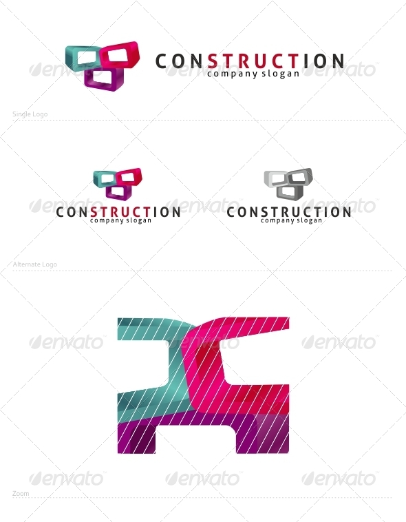 Construction - Symbols Logo Templates