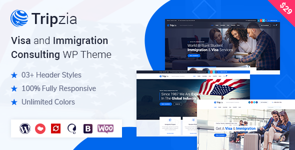 Download Tripzia – Immigration Consulting WordPress Theme Free Nulled