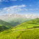 landscape with mountains and sky - PhotoDune Item for Sale