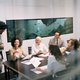 Portrait of successful business team working in office - PhotoDune Item for Sale