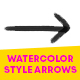 Watercolor Style Arrows - VideoHive Item for Sale
