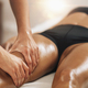 Anti Cellulite Thigh Massage in a Beauty Spa Salon. - PhotoDune Item for Sale