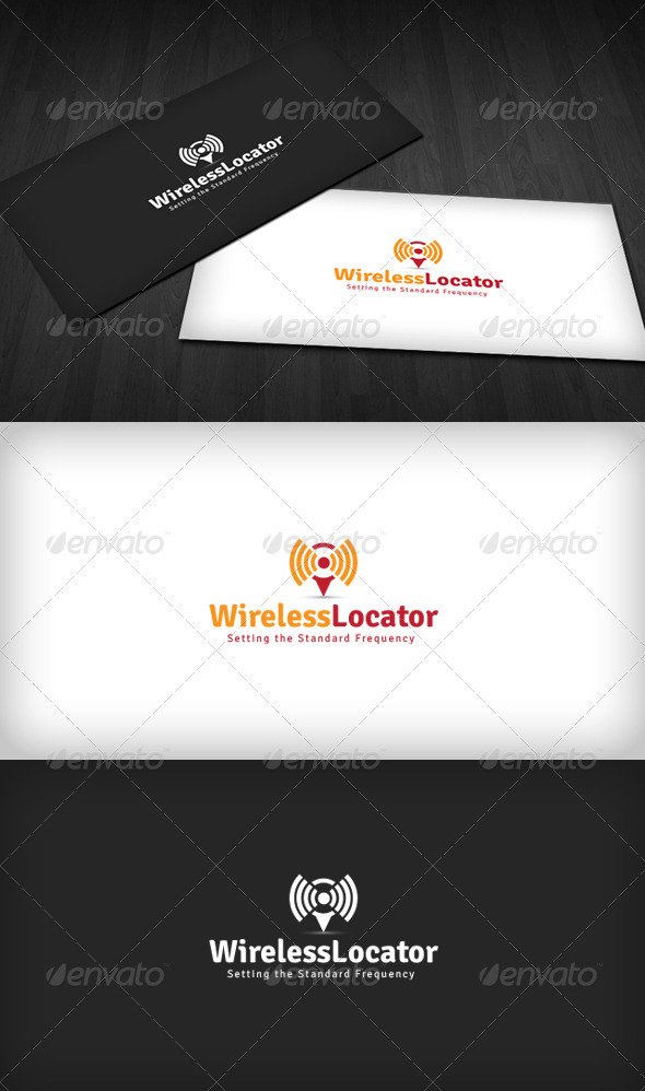Wireless Locator Logo - Symbols Logo Templates