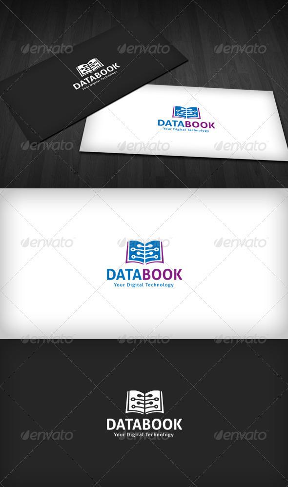 Data Book Logo - Vector Abstract