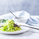 Healthy Zucchini Noddles with pesto - PhotoDune Item for Sale