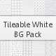 Tileable White Background Pack