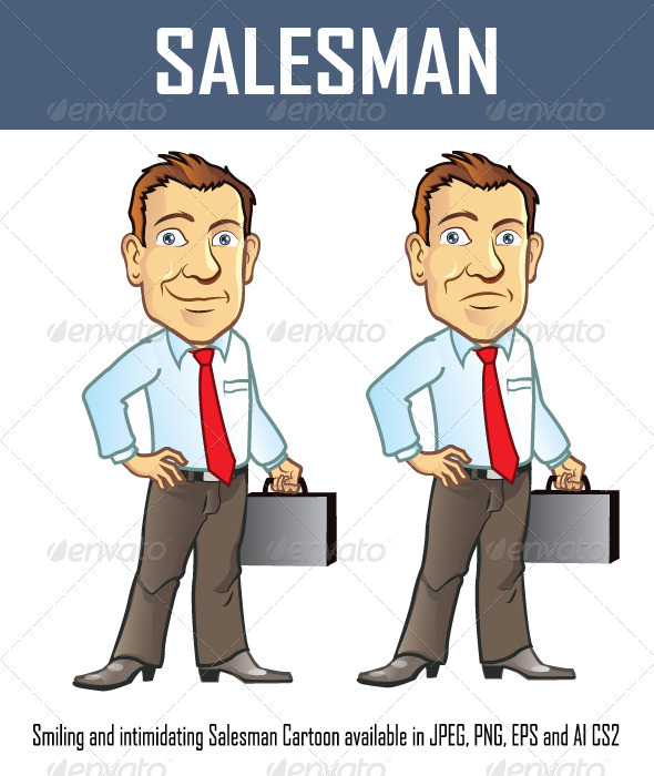 Salesman - People Characters