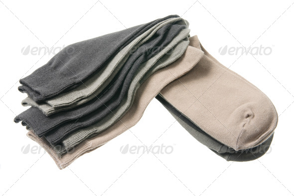 Men's Socks - Stock Photo - Images
