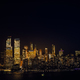 New York City skyline and Downtown Manhattan from Jersey City during night - PhotoDune Item for Sale