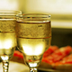 Champagne glasses and red caviar - PhotoDune Item for Sale