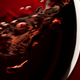 Red wine on red black background, abstract splashing - PhotoDune Item for Sale