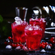 Red currant drink with ice - PhotoDune Item for Sale