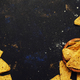 Nachos In Wooden Bowl, Black Background, Top View - PhotoDune Item for Sale