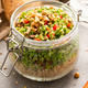 Salad with Quinoa in Jar for Take Away Lunch - PhotoDune Item for Sale