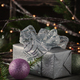 Christmas decor on the vintege table - PhotoDune Item for Sale