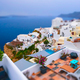 Famous greek tourist destination Oia, Greece - PhotoDune Item for Sale