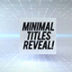 Clean Cubes Titles Reveal - VideoHive Item for Sale