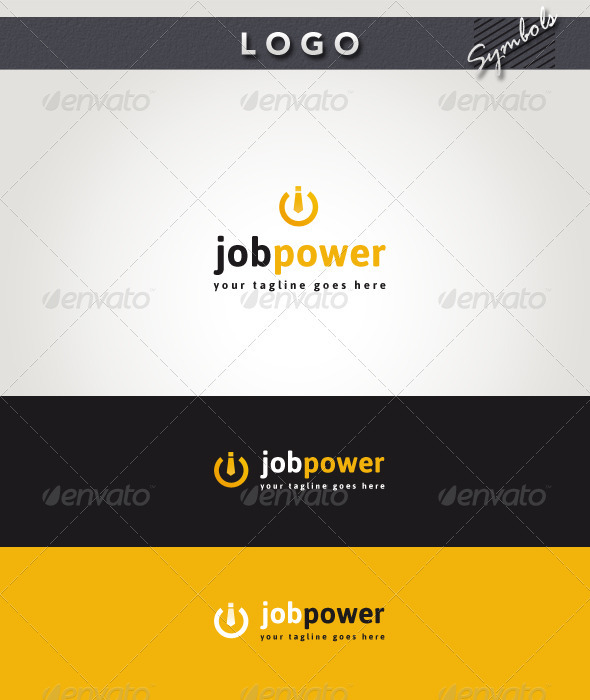 Job Power Logo - Symbols Logo Templates