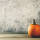 Autumn background with pumpkin, copy space, horizontal composition - PhotoDune Item for Sale