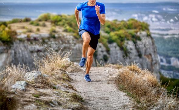 runner athlete run - Stock Photo - Images