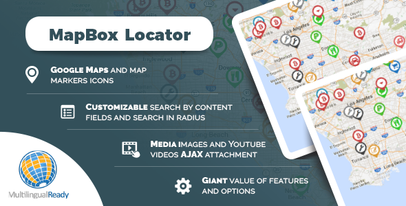 Download MapBox Locator plugin for WordPress Free Nulled