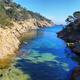 Sea channel near mediterranean village of Tossa de Mar, Catalonia, Spain - PhotoDune Item for Sale