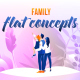 Family - Flat Concept - VideoHive Item for Sale