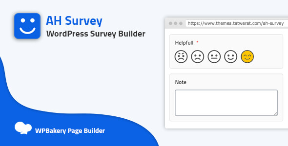 Download AH Survey – Survey Builder With Multiple Questions Types Free Nulled