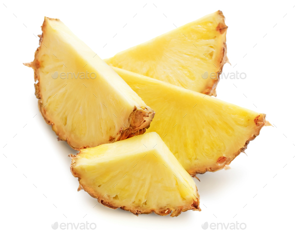 Slices of pineapple - Stock Photo - Images