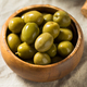 Raw Green Organic Olives - PhotoDune Item for Sale