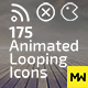 175 Animated Looping Icons - VideoHive Item for Sale