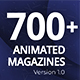 The Biggest Pack of Animated Magazines - VideoHive Item for Sale