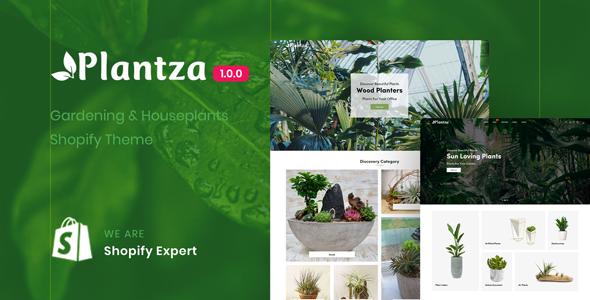 Plantza - Gardening & Houseplants Shopify Theme