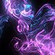 Purple Particles Background Loop - VideoHive Item for Sale