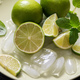 Lime, Mint, Ice Cubes for Cocktail or Lemonade Drink - PhotoDune Item for Sale
