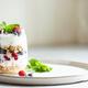 Glass of Parfait Made of Granola, Berries and Yogurt. - PhotoDune Item for Sale