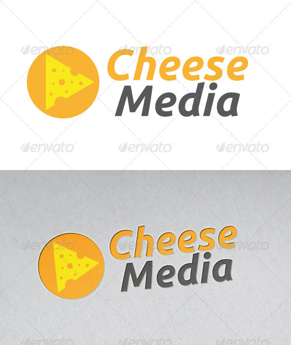 Cheese Media Logo - Objects Logo Templates