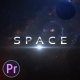 Space Intro - VideoHive Item for Sale