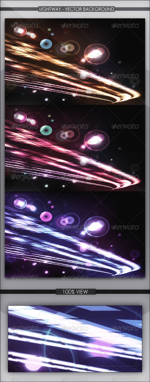 Lightway - Vector Background - Backgrounds Decorative
