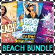 Summer Beach Party Flyer Bundle - GraphicRiver Item for Sale