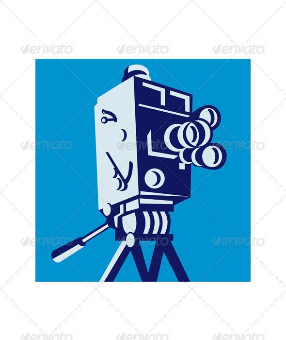 Vintage Film Movie Camera Retro - Retro Technology