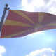 Macedonia Flag on a Flagpole V4 - VideoHive Item for Sale