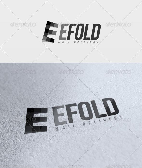Efold Logo - Letters Logo Templates