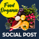 Food Organic Instagram Post V10 - VideoHive Item for Sale