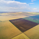 Aerial view of agricultural meadow. - PhotoDune Item for Sale