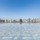 modern city skyline with empty square floor - PhotoDune Item for Sale
