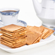 Kueh kapit with peanut and butter, with coffee - PhotoDune Item for Sale