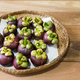 Freshly harvested organic mangosteen fruit - PhotoDune Item for Sale