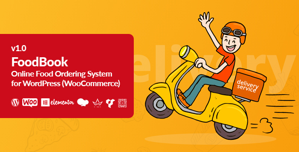 Download FoodBook | Online Food Ordering System for WordPress Free Nulled