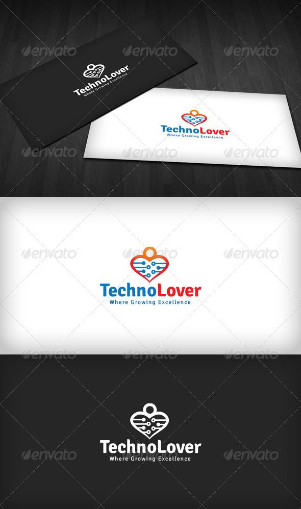 Techno Lover Logo - Humans Logo Templates